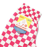 Chef Pants 「Checker」 Pink