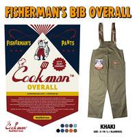 cookman  Fisherman's Bib Overall 「Khaki」