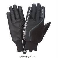 冬用 スマホ対応  OGK KABUTO  グローブ  KG-12W  ブラック/グレイ