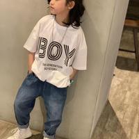 BOYロゴTシャツ
