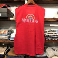 """【残り僅か】RUGGED """"TOKYO MARIJUANAS"""" L/S tee (Red)"""