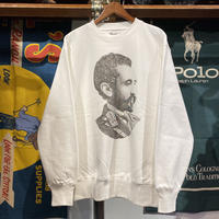 "【残り僅か】RUGGED ""SELASSIE"" reverse weave sweat (White/12.0oz)"