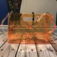 【残り僅か】AKIRA Art of Wall x nana-nana A4 Clear Bag (Orange)