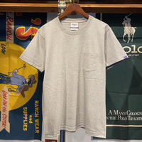 RUGGED heavy weight sleeve tag pocket tee (Gray)