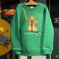 "【ラス1】RUGGED ""POLO Master"" kids sweat (Green/10.0oz)"