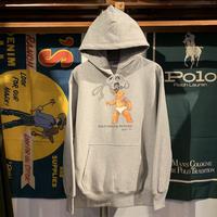 """【ラス1】RUGGED """"POLO JINGI"""" reverseweave sweat hoodie (Gray/12.0oz)"""