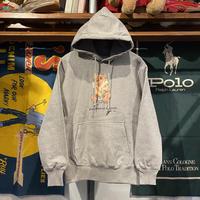 """【残り僅か】RUGGED """"POLO SMOKE"""" reverse weave sweat hoodie (Gray/12.0oz)"""