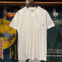 RUGGED heavy weight pocket tee (White)