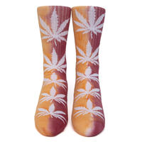 "HUF TIEDYE PLANTLIFE SOCK ""Orange"""