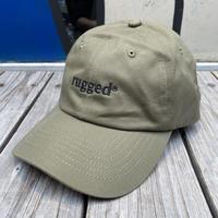 "RUGGED ""rugged®︎"" adjuster cap  (Olive)"