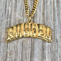 RUGGED ''ARCH LOGO''  necklace