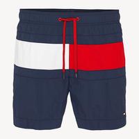 【残り僅か】TOMMY HILFIGER medium drawstring swim shorts (Navy)