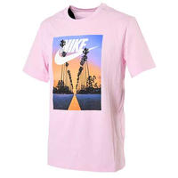 【残り僅か】NIKE SUNSET PALM TEE (Pink)
