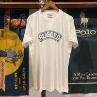 """RUGGED """"CIRCUIT ARCH"""" heavy weight tee (White)"""