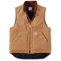 【ラス1】Carhartt ARCTIC QUILT LINE Duck vest (Brown)