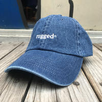 "【残り僅か】RUGGED ""rugged®︎""  adjuster cap  (Denim)"