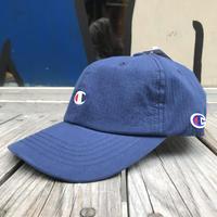 """【ラス1】Champion """"C"""" logo stripe adjuster cap (Navy)"""