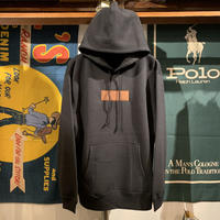 "AnotA ""FOX "" sweat hoodie (Black/10.0oz)"