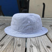 Newera stripe bucket hat (White)