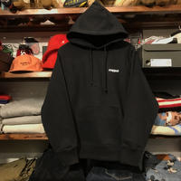 "【ラス1】RUGGED ""rugged®︎ "" reverse weave hoodie (Black/12.0oz.)"