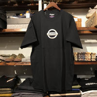 "【残り僅か】RUGGED ""GONE"" tee  (Black/Silver)"