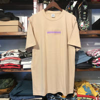 "【ラス1】GUALA ""GEL BOX""  tee (Beige)"