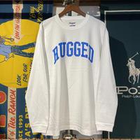 """【残り僅か】RUGGED """"ARCH  LOGO"""" L/S tee (White)"""