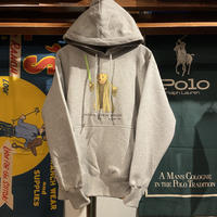 """【ラス1】RUGGED """"POLO Master""""  reverse weave sweat hoodie (Black/12.0oz.)"""