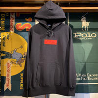 "【ラス1】 AnotA ""FOX ""  heavy-weight hoodie (Navy/12.0oz)"