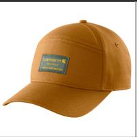 【ラス1】Carhartt rugged flex® canvas 5Panel cap (Carhartt Brown)