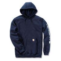 【ラス1】Carhartt Sleeve logo Pullover hoodie (Navy)