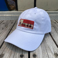 "【ラス1】RUGGED ""上上 下下 左右 左右 BA"" adjuster cap (White)"