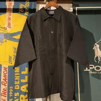 【ラス1】RUGGED tag pocket S/S shirt (Black)