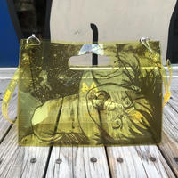 AKIRA Art of Wall x nana-nana A4 Clear Bag (Yellow)