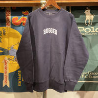 "【ラス1】RUGGED ""SMALL ARCH"" reverse weave sweat  (Navy/12.0oz)"