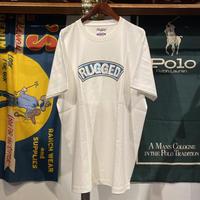 """【ラス1】RUGGED """"CIRCUIT ARCH"""" heavy weight tee (White)"""