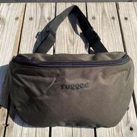 """【残り僅か】RUGGED """"rugged®️"""" body bag (Olive)"""