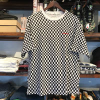 【ラス1】AIR WALK cotton check tee
