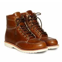 """【ラス1】RRL """"Brunel"""" Leather Work Boot (Right Brown)"""