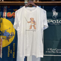"【残り僅か】RUGGED ""POLO JINGI"" tee (White)"