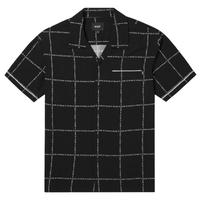 "【ラス1】HUF ""FUCK IT"" S/S WOVEN SHIRT  (Black)"