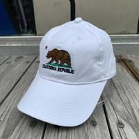 【ラス1】CALIFORNIA REPUBLIC adjuster cap (White)