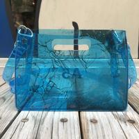 【残り僅か】AKIRA Art of Wall x nana-nana A5 Clear Bag (Blue)