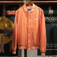 """RUGGED on Vintage """"ARCH LOGO"""" stadium jacket (Orange)"""