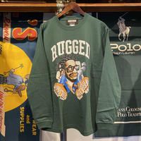 "【ラス1】RUGGED × EDOFUKU ""CHAMBERS"" L/S tee (Green)"