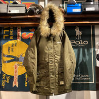 "【ラス1】RUGGED ""ARCH LOGO"" N-3B fur jacket (Khaki)"