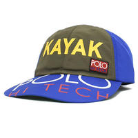 "【ラス1】POLO RALPH LAUREN ""KAYAK"" adjuster cap (Blue)"