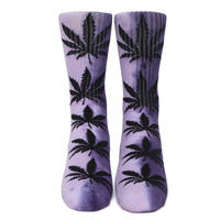 "HUF TIEDYE PLANTLIFE SOCK ""Purple"""
