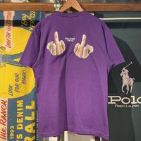 "RUGGED ""WELCOME TOKYO"" tee (Purple)"