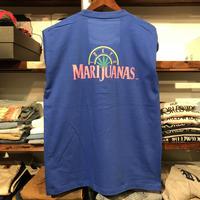 """【残り僅か】RUGGED """"TOKYO MARIJUANAS"""" L/S tee (Blue)"""